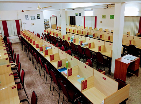 Reading Room With Cubicles For Personal Learning Fortune Ias Best Ias Civil Service Academy In Kerala Trivandrum