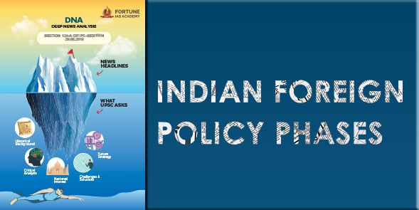 Indian Foreign Policy Phases